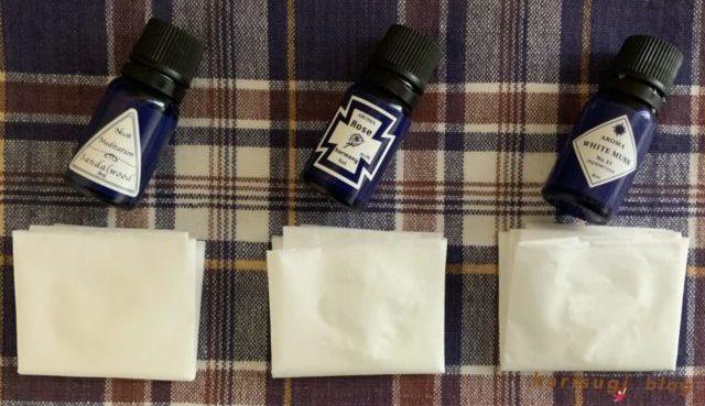 ブルーラベルのアロマオイル|使い方、おすすめの香り