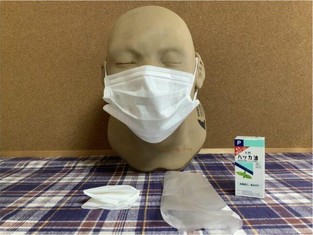 5分で作る、ハッカ油でひんやり「夏のマスク」の作り方【動画付き】